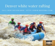 Thrilling White water rafting Adventures in Denver